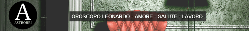 astrobri oroscopo leonardo banner